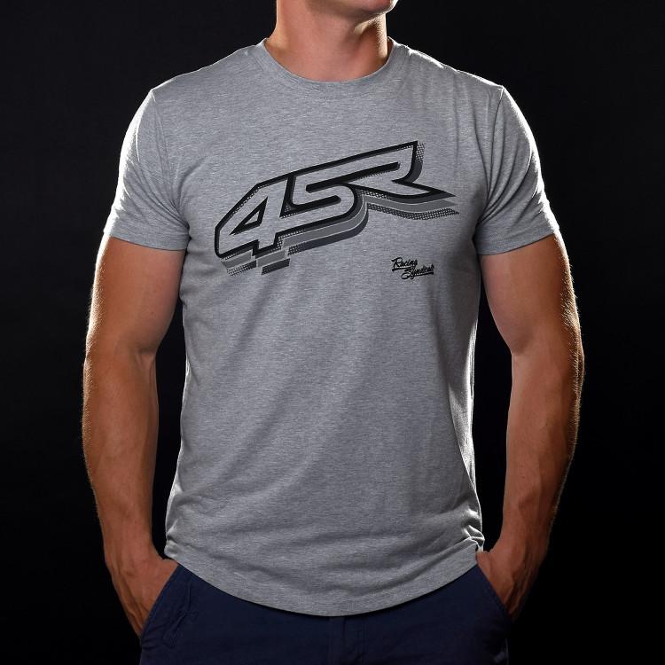 Tričko Logo Grey