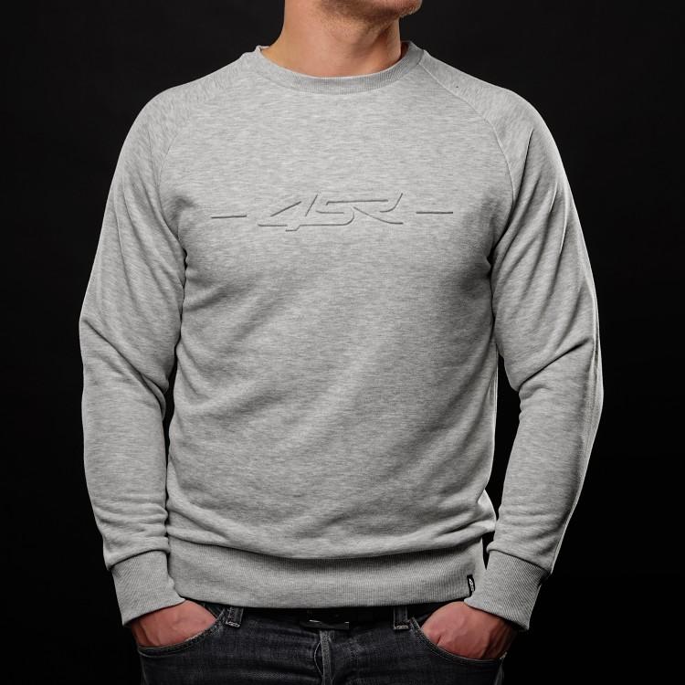 Mikina Logo EMB Grey