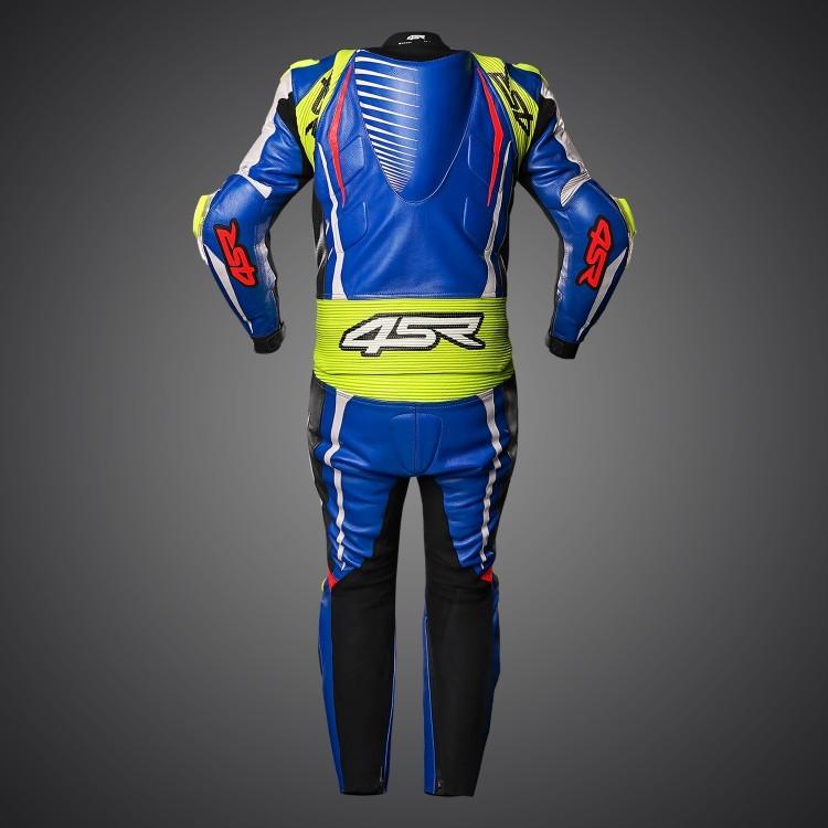 4SR motocyklové oblečenie a doplnky - Modrá kombinéza RR Evo III Cobalt Blue