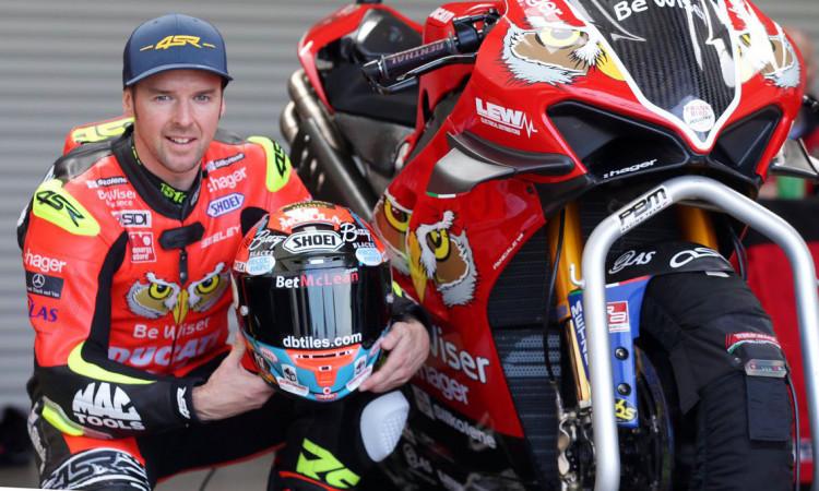 Alastair Seeley Ducati NW200 4SR leathers