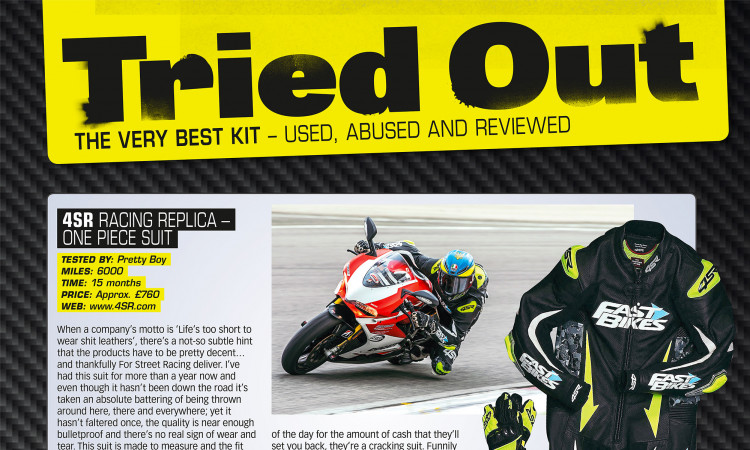 4SR Crash test - Fast Bikes review