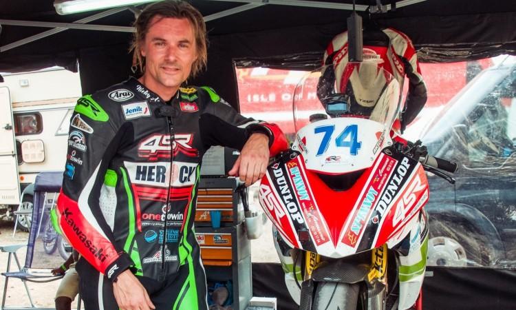 Kvalitní motocyklové oblečení 4SR - Laurent Hoffmann