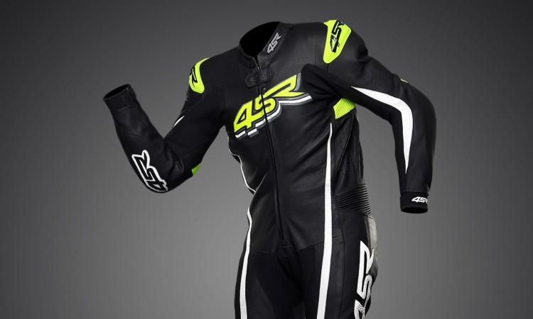Kvalitní motocyklové oblečení 4SR - jednodílná kombinéza Doctor's Yellow